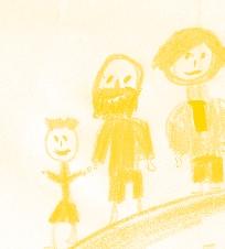 representações familiares infantis ou como adoro a minha família